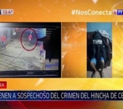 Detienen a sospechosos del asesinato de barrabrava