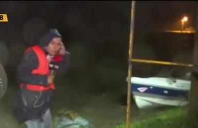 Histórica inundación en Pilar