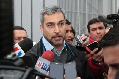 """Mario Abdo: """"No puedo promulgar una ley que a mí criterio es inconstitucional"""""""