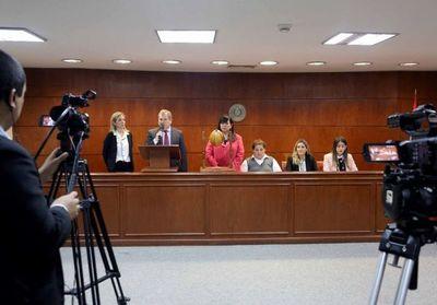Transmisión del sorteo de preopinantes de casos de la Sala Civil
