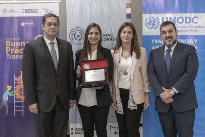 Regional premiado por buenas prácticas en transparencia e integridad