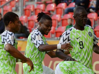 Aplastante Nigeria en el debut en el Mundial