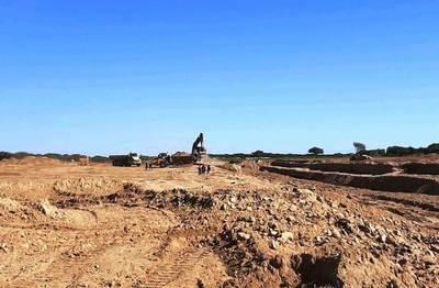 Continúan los trabajos para mejorar los caminos en el Chaco pese a condiciones climáticas desfavorables