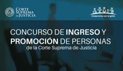 La CSJ llama a Concurso Público de Oposición para la Circunscripción de Itapúa