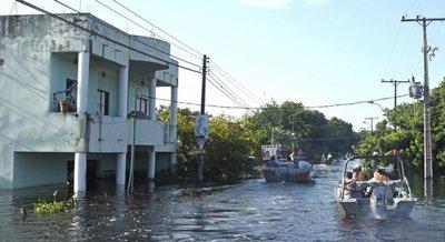 """""""Es una catastrofe, el 99% de Nanawa está bajo agua"""", afirma intendente"""