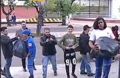Gran cantidad de personas se suman a la campaña 'S.O.S. Paraguay'