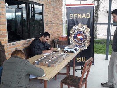 Luego de 2 años la Senad encuentra más droga en un camión incautado