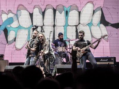 Salamandra promocionará su último disco en Coronel Oviedo