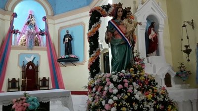 En Región Occidental también honraron a la Virgen