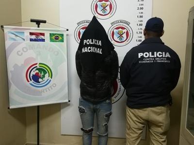 Cae paraguayo buscado por homicidio de joven