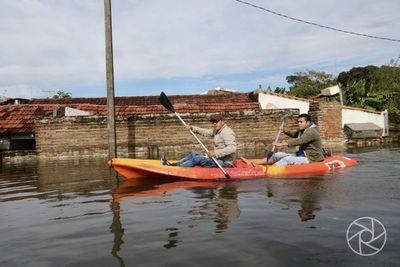 Pilar: el río no para de crecer y llega a 8.77 centímetros