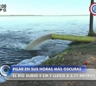 El río no frena su ascenso en Pilar y se anuncian lluvias