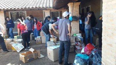 Solidaridad de paraguayos en Argentina para Pilar