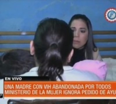 ¡Terrible!: Estado ignora pedido de ayuda de Mamá y su beba con VIH