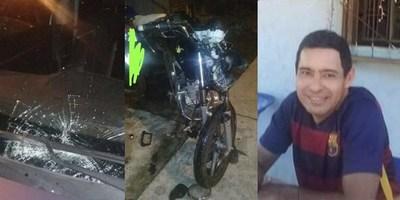 FALLECE MOTOCICLISTA ACCIDENTADO ANOCHE EN LA COSTANERA.