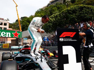 Lewis Hamilton logra la pole en Mónaco