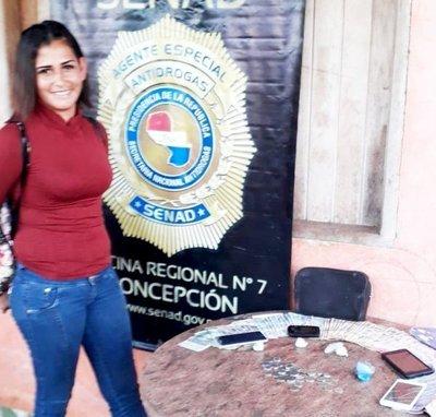 Arrestan a presunta microtraficante
