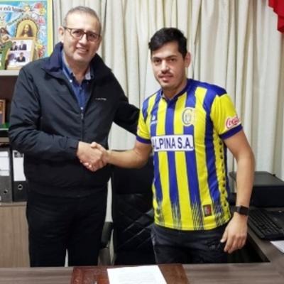 """Lucho"" Cáceres se muda de San Lorenzo a Capiatá"