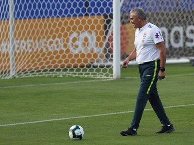 Brasil realiza su primer entrenamiento parcialmente secreto para Copa América