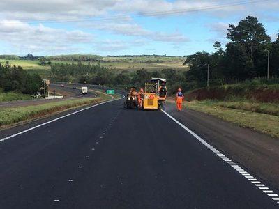Habilitan duplicación de Ruta 7 desde Caaguazú hasta Minga Guazú