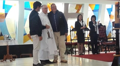 Celebran 50° aniversario de creación de la Iglesia Inmaculada Concepción de Caaguazú