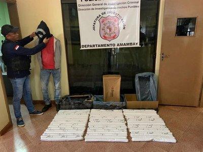 Un hombre es detenido con 75 kilos de dinamita en gel