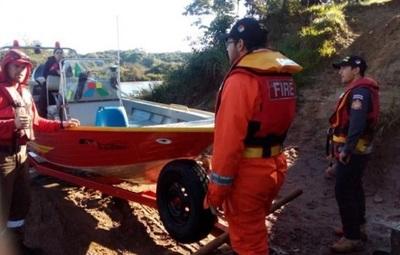 Hallan cuerpo de desaparecido en río Yguazú