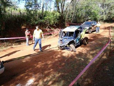 Nena de 12 años murió en accidente de Rally