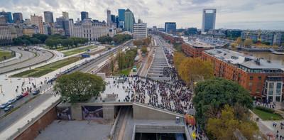 Paseo del bajo: Inauguran autopista subterránea en Buenos Aires