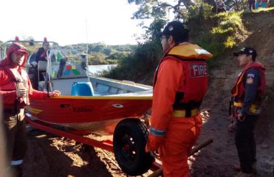 Hallan cuerpo de joven que cayó al río Yguazú
