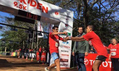 Ekiden: La mayor corrida familiar se realizó en su cuarta edición.