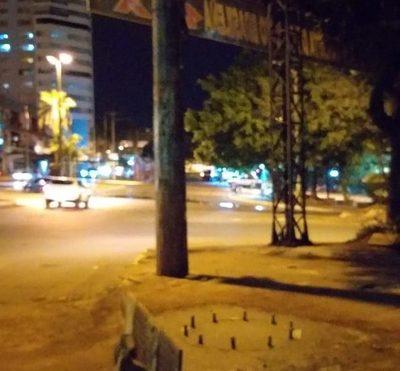 Siguen rifando espacios públicos para carteles en el microcentro de CDE