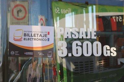 Inician Plan Piloto del Billetaje electrónico en buses