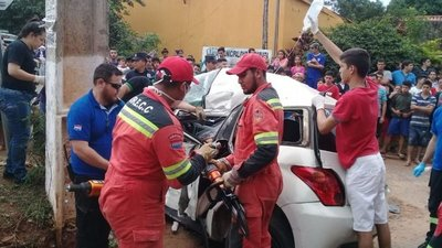 Accidente en Capiatá: desmienten que chofer de colectivo sea sordomudo