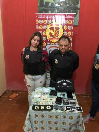 Pareja de criminal brasileño expulsado del país fue procesada con pedido de prisión