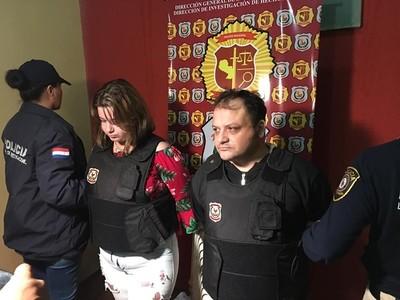 Fiscal procesa a  pareja de criminal brasileño