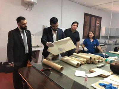 Cultura recibió bocetos de los monumentos de La Rosada y Vapor Cué