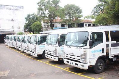 Essap cuenta con nuevos camiones para atender reclamos