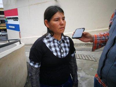 San Lorenzo: mujer embarazada disparada está delicada pero consciente