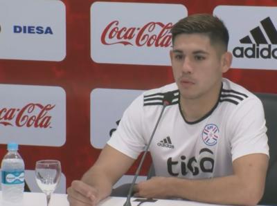 Saúl Salcedo, entusiasmado por quedar entre los 23 para la Copa América