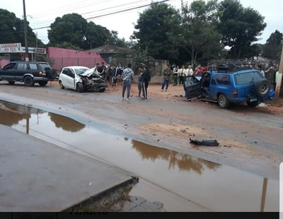 Otro accidente de tránsito sobre López Godoy, pero sin fallecidos