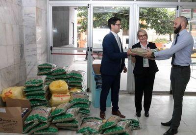 Continúa campaña solidaria para afectados por inundaciones