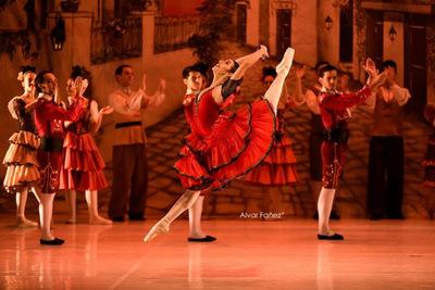 """Función especial de """"Don Quijote"""" en honor al artista Ricardo Migliorisi"""
