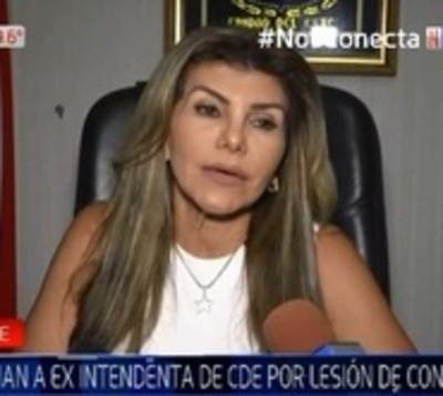 Intendente de CDE denuncia a Perla Rodríguez por corrupción