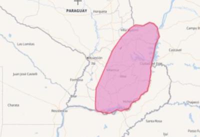 Sistema de tormentas afectará a nueve departamentos