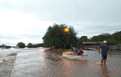 Afectados por inundaciones en Concepción sufren el abandono del Estado