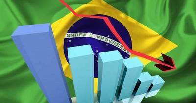 Economía brasileña se contrajo un 0,2% en primer trimestre, primera caída en dos años