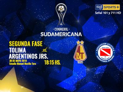Deportes Tolima y Argentinos Juniors, por un lugar en octavos