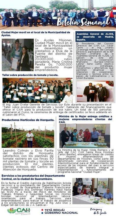 Gobierno cumple acuerdo con agricultores asegura presidente del CAH