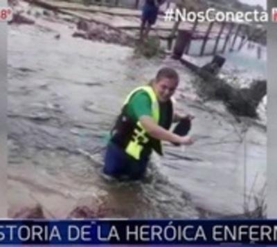 Destacan loable labor de enfermera en el Chaco